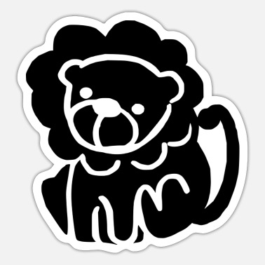 Beast Lion - Sticker