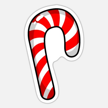 Candy Cane Candy Cane - Sticker