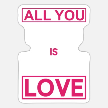 Marriage All you need is love - Sticker