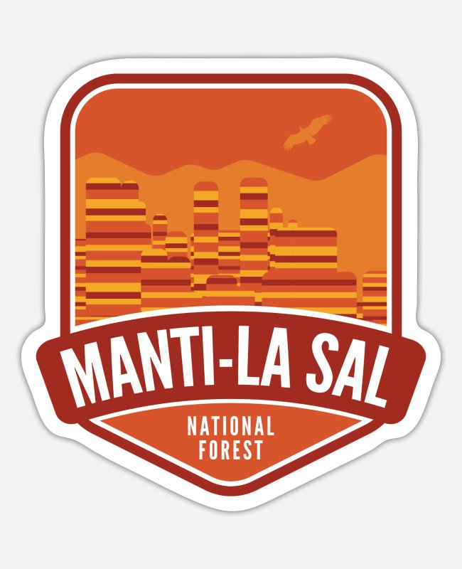 Meadow Stickers - Manti-La Sal National Forest - Sticker white matte