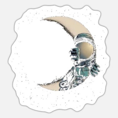 Space space art - Sticker