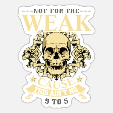 Cause weak cause - Sticker