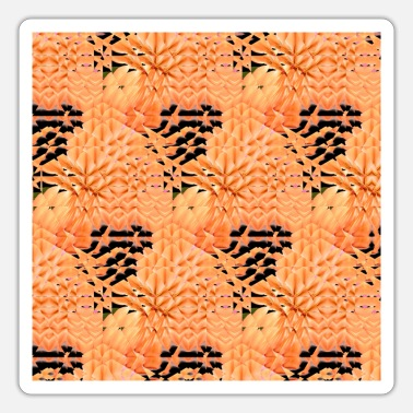 Ornament New trendy abstract retro vintage pattern design - Sticker