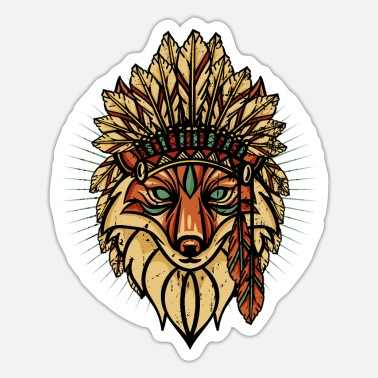 Tribe fox tribe - Sticker