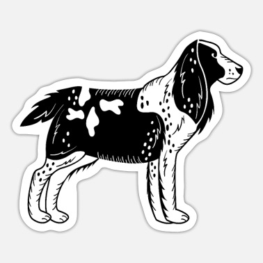 Springer Spaniel Mom Springer Spaniel - Sticker