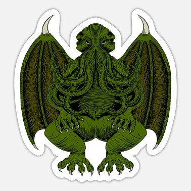 Hp Cthulhu Call of Cthulhu HP Lovecraft - Sticker