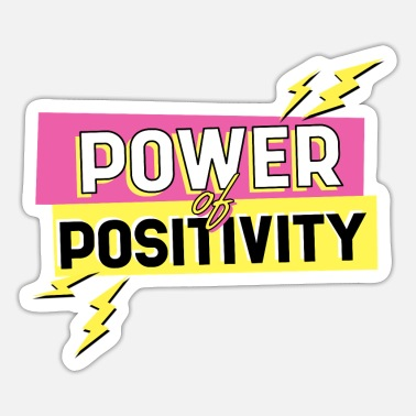 Streetwear Positive Power - Sticker