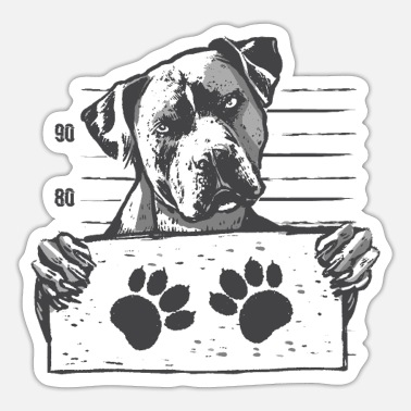 Mugshot STAFFY MUGSHOT - Sticker