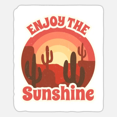 Enjoy The Sunshine - Sticker