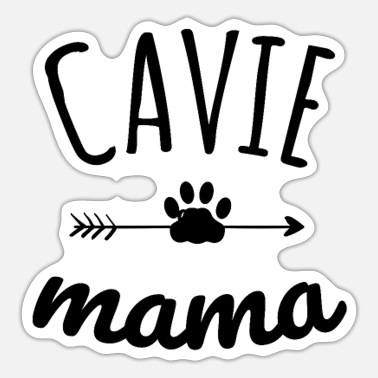 Cavalier King Charles Spaniel Dog Mom Cavie Mama | Cavalier King Charles Spaniel Lover - Sticker