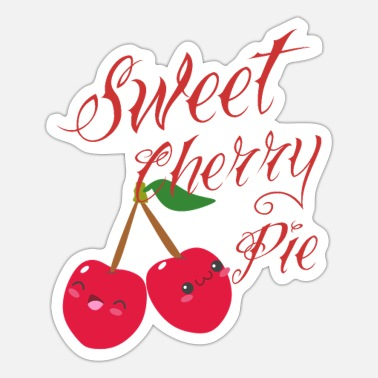 Cherry Pie Sweet Cherry Pie - Sticker
