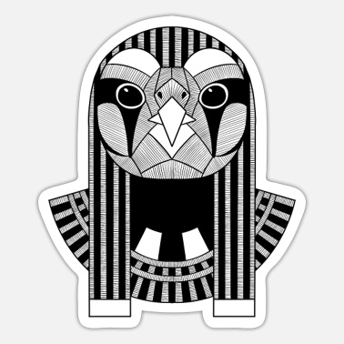 Horus the Ancient Egyptian God of the Sun and Sky - Sticker