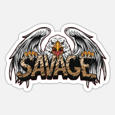 Eagles Savage Eagle, eagle, eagles - Sticker