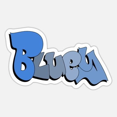 Australian Sheep Dog Bluey - Sticker