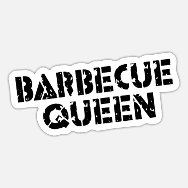 Queen Barbecue queen - Sticker