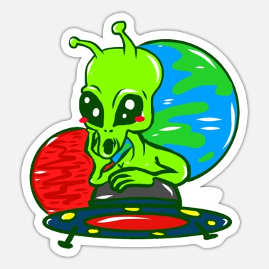 Alien Alien - Sticker