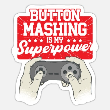 Video Games Video Game Computer Enthusiast Fanatic Addict for - Sticker