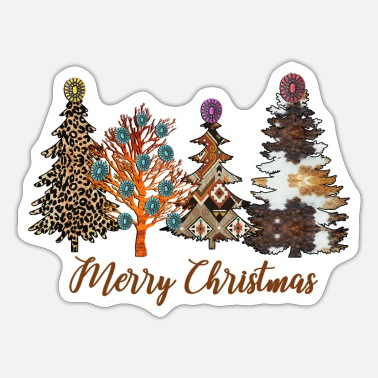 Christmas Tree Christmas Trees - Sticker
