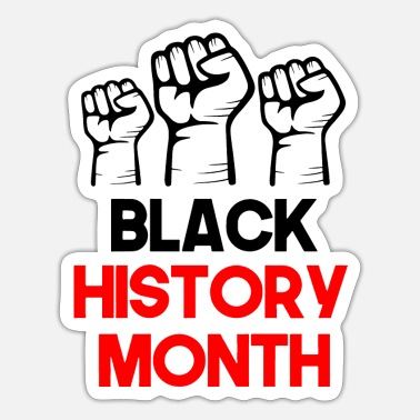 Month Black History Month - Sticker