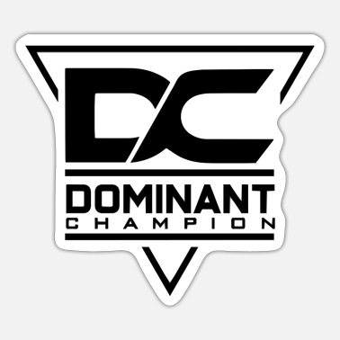Dominant Dominant Champion - Sticker