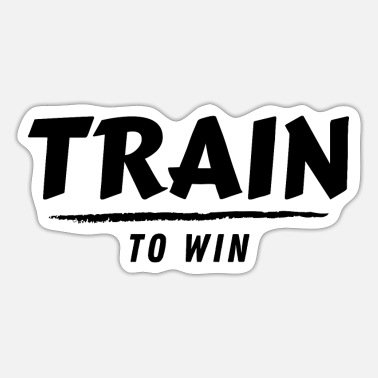 Wretch Train to win (2) - Sticker
