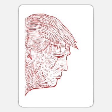Horrormovie Trump Donald Republican President Horrormovie Gift - Sticker