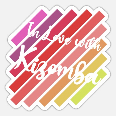 Puerto Rico I Love Kizomba I Like to Move it - Sticker