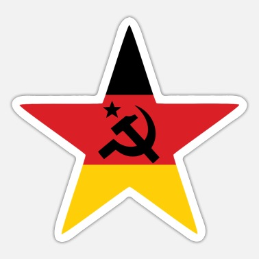 Marx Socialism star Germany - Sticker