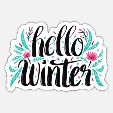 Salam Hello winter - Sticker
