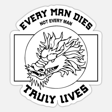 William Wallace Every Man Truly Lives William Wallace Quote Scotla - Sticker