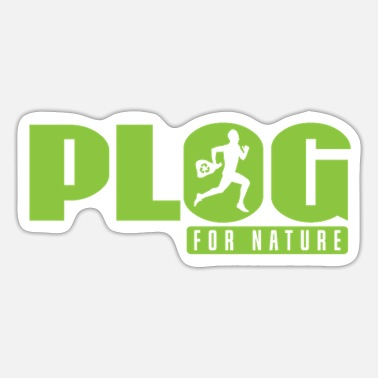 Grafic Plogging Plog for Nature - Sticker