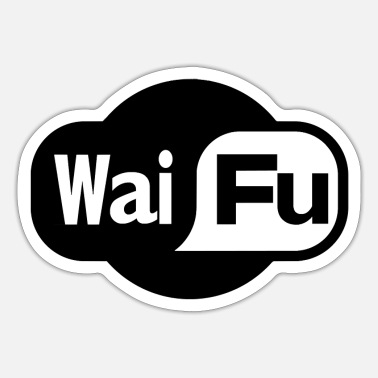Waifu Waifu - Wifi - Sticker