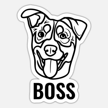 Boss boss - Sticker