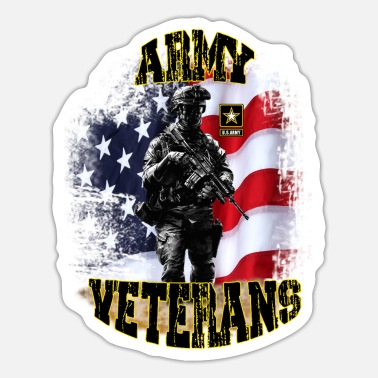 Army Reserve ARMY Veterans - Sticker