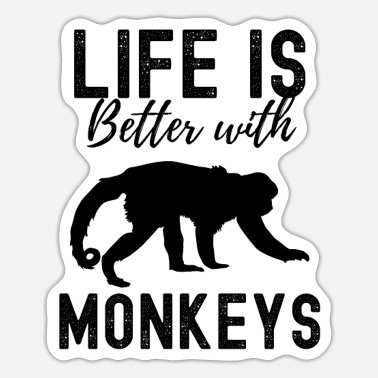 Monkeys Monkey - Sticker