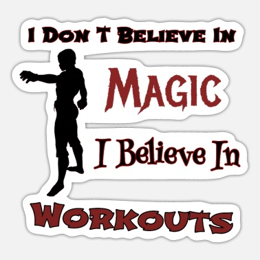 Believe Workout - Sticker