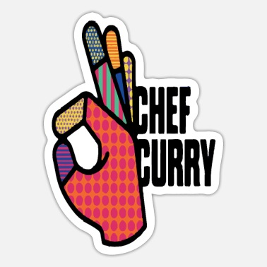 Curry chef curry - Sticker