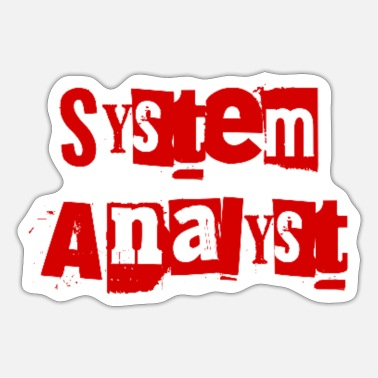 Linux System Analyst - Sticker