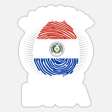Tourist Paraguay America Travel Gift Idea - Sticker