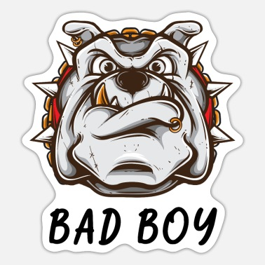 Naughty Boy Bad boy - Naughty boy gift - Sticker