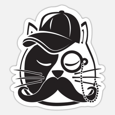 Cat Dad Cat Dad - Sticker