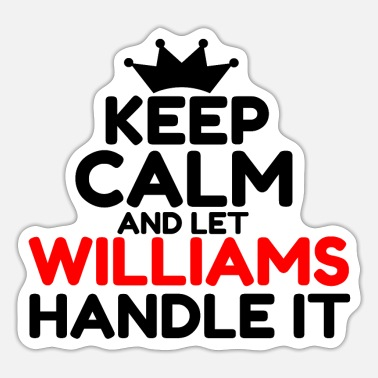 William WILLIAMS - Sticker
