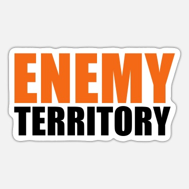 Territory ENEMY TERRITORY - Sticker