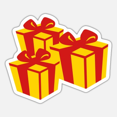 Present Present gifts - Sticker