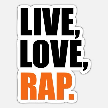 Rap rap - Sticker
