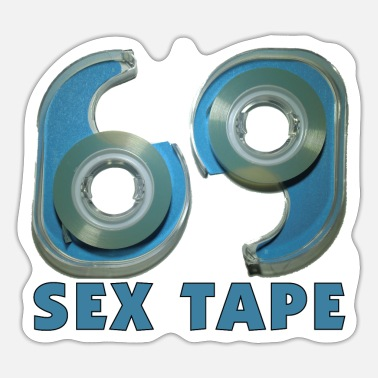 Tape Sex Tape - Sticker