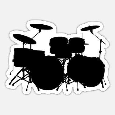 Death Drums HD Design - Sticker