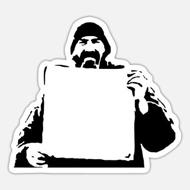 Homeless Homeless HD VECTOR - Sticker