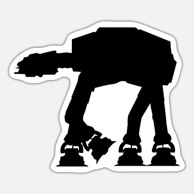 Star AT-AT Walker - VECTOR - Sticker