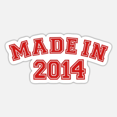 2014 Made in 2014 - Sticker